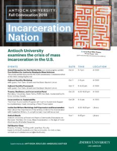 Incarceration nation flyer