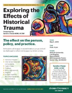 Flier B for: Exploring the Effects of Historical Trauma